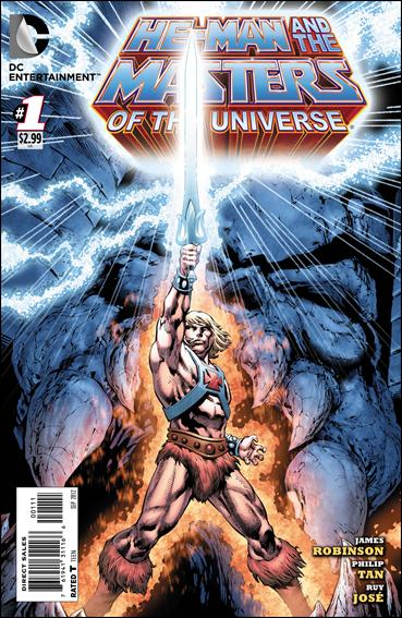 He-Man and the Masters of the Universe (2012) 1-A by DC