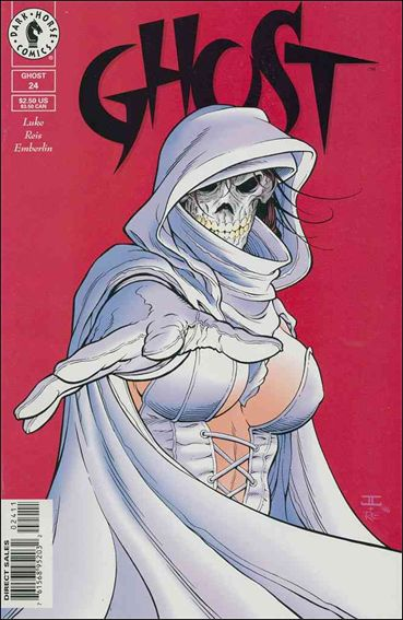 Ghost (1995) 24-A by Dark Horse