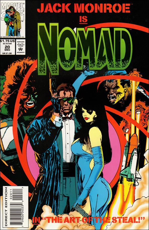 Nomad (1992) 20-A by Marvel