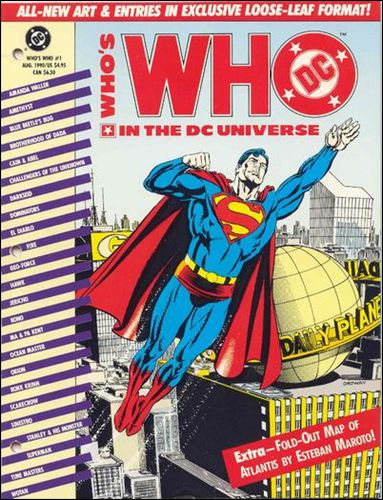 Who's Who In the DC Universe 1-A by DC