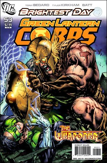 Green Lantern Corps (2006) 53-A by DC