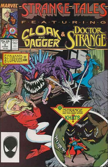 Strange Tales (1987) 3-A by Marvel