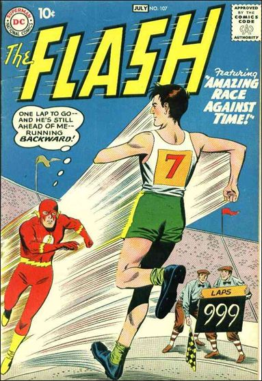 Flash (1959) 107-A by DC
