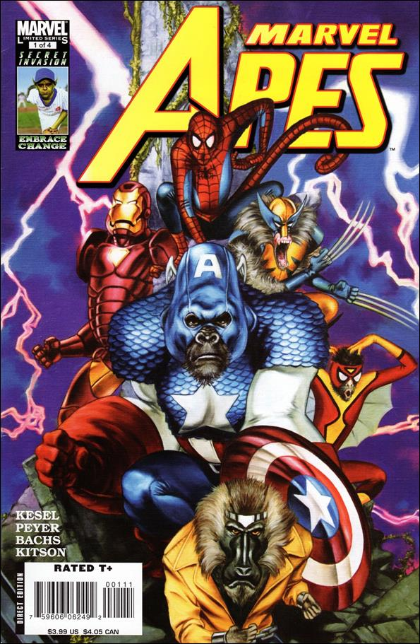 Marvel Apes 1-A by Marvel