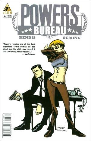 Powers: The Bureau 4-A by Icon