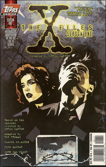 X-Files: Season One 1-A by Topps