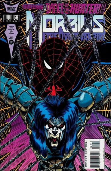 Morbius: The Living Vampire (1992) 22-A by Marvel