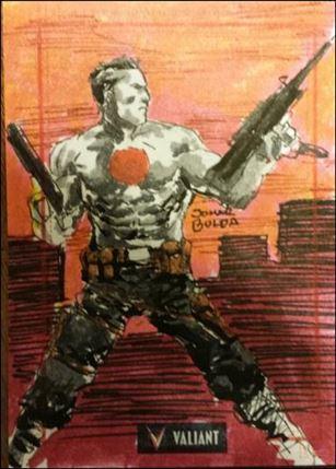 2013 Valiant Comics Preview Trading Card Set (Sketch Card Subset) JBul-12-A