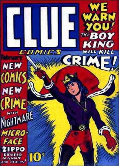 Clue Comics (1943) 2-A by Hillman