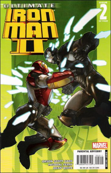 Ultimate Iron Man II 2-A by Marvel