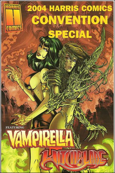 Harris Comics Convention Special: Vampirella/Witchblade 2,004-A by Harris