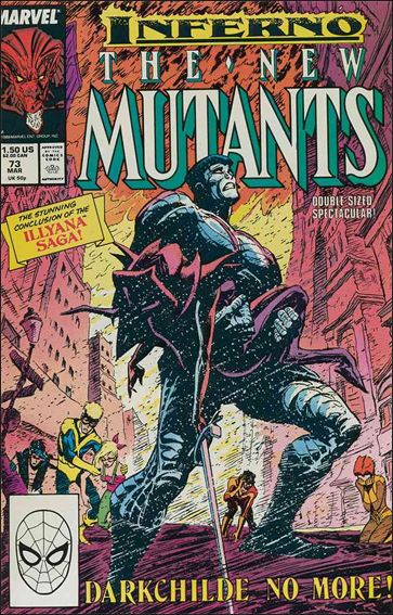 New Mutants (1983) 73-A by Marvel
