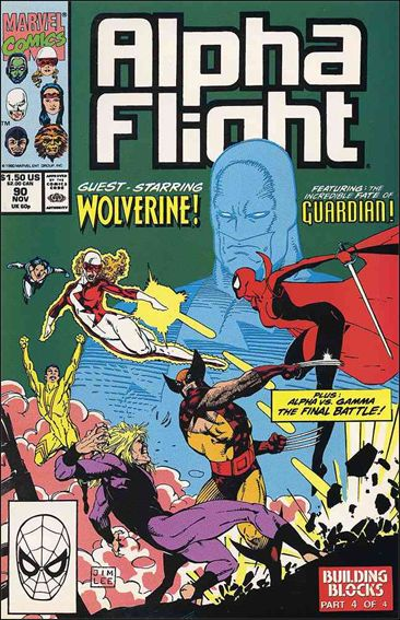 Alpha Flight (1983) 90-A by Marvel