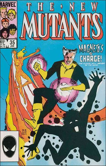 New Mutants (1983) 35-A by Marvel