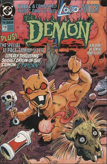 Demon (1990) 19-A by DC
