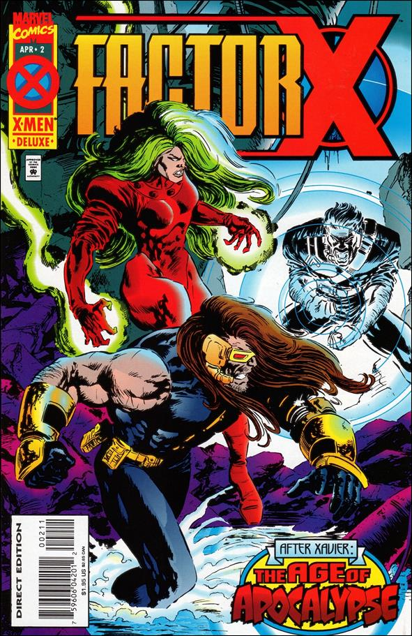 Factor-X 2-A by Marvel
