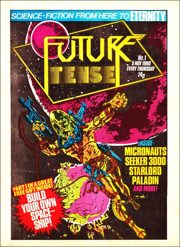 Future Tense (UK) 1-A by Marvel UK