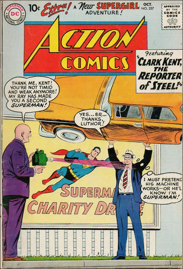 Action Comics (1938) 257-A by DC