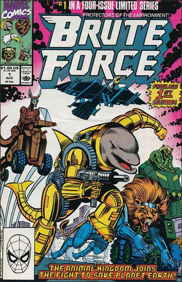Brute Force 1-A by Marvel
