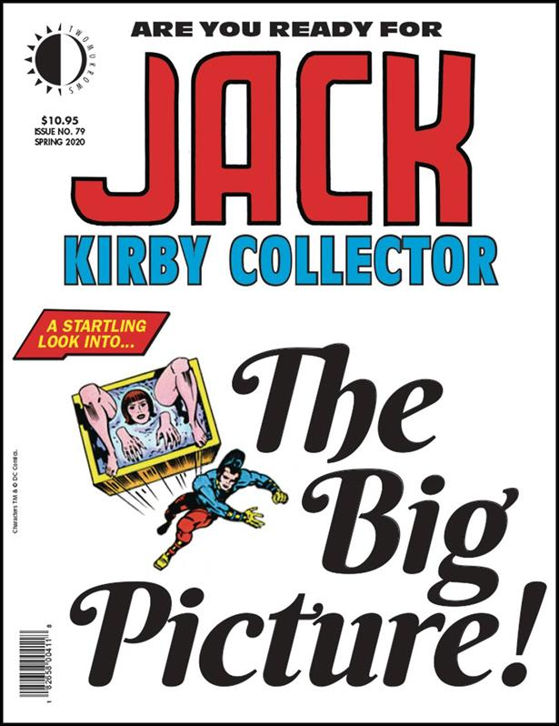 Jack Kirby Collector 79-A by TwoMorrows