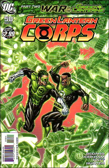 Green Lantern Corps (2006) 58-A by DC