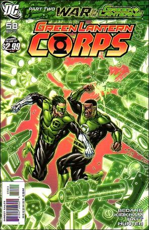Green Lantern Corps (2006) 58-A
