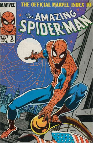 Official Marvel Index to the Amazing Spider-Man 8-A by Marvel