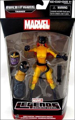 Marvel Legends Infinite: Avengers (Thanos Series) Fierce Fighters (Hellcat)
