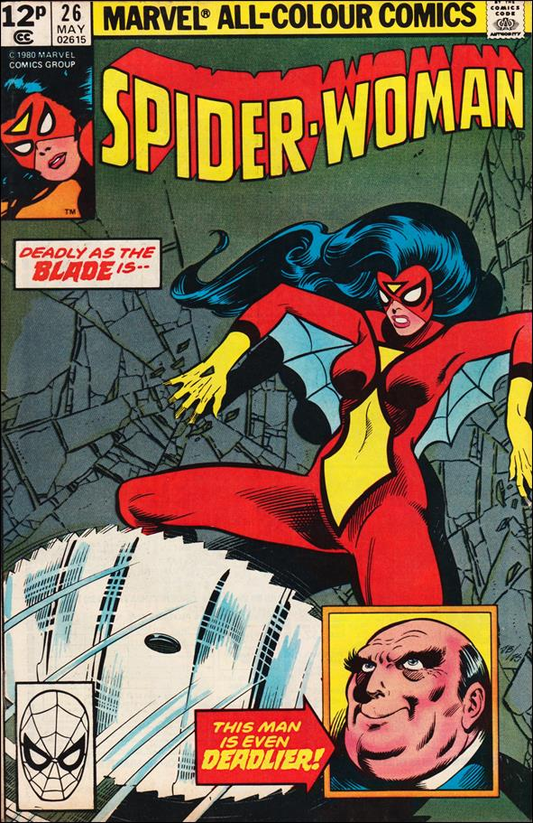 Spider-Woman (1978) 26-B by Marvel