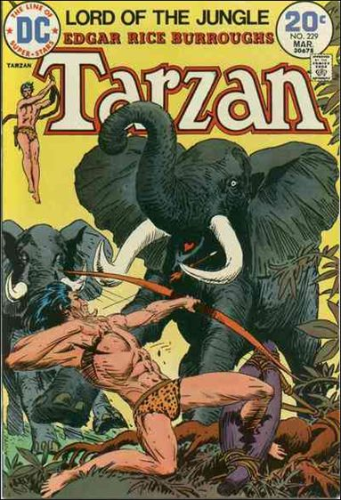 Tarzan (1972) 229-A by DC