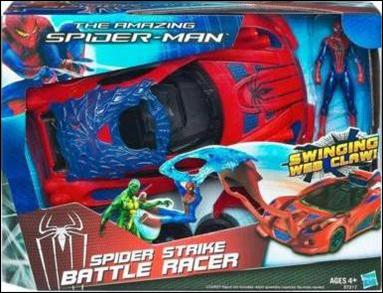 Amazing Spider-Man (Vehicles) Spider Strike Battle Racer with Spider-Man by Hasbro