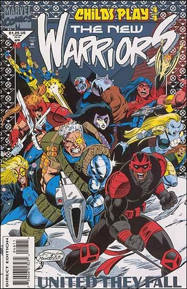 New Warriors (1990) 46-A by Marvel