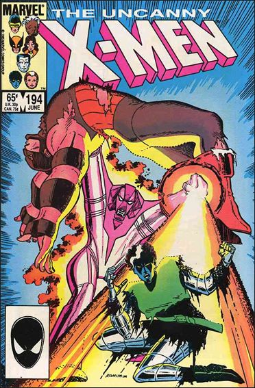Uncanny X-Men (1981) 194-A by Marvel