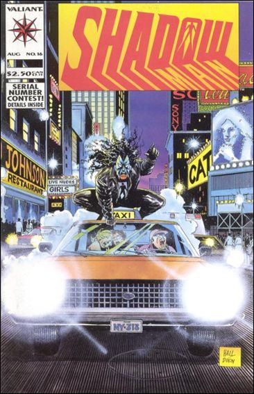 Shadowman (1992) 16-A by Valiant