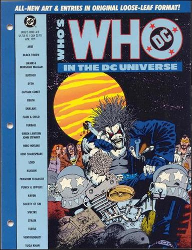 Who's Who In the DC Universe 8-A by DC