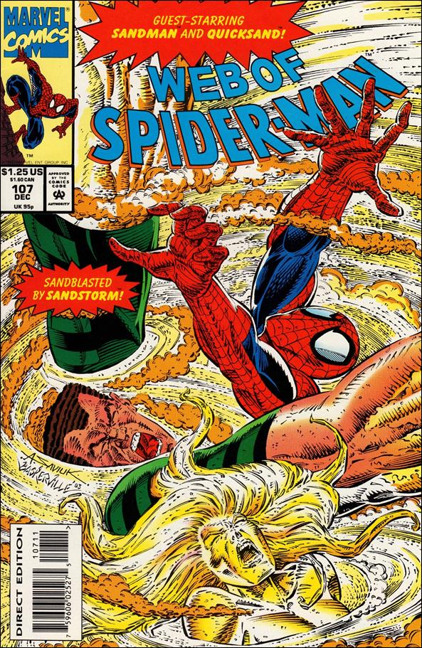 Web of Spider-Man (1985) 107-A by Marvel