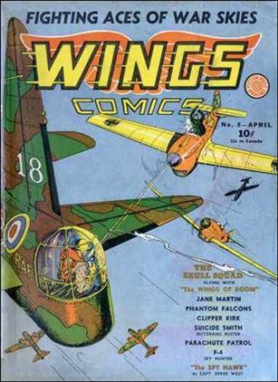 Wings Comics (1940) 8-A