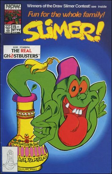 Slimer! 15-A by Now Comics