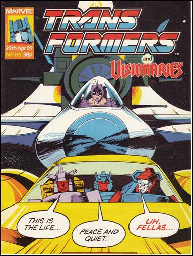 Transformers (UK) 215-A by Marvel UK
