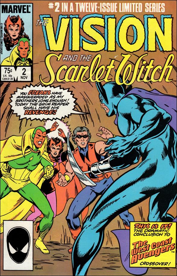 Vision and the Scarlet Witch (1985) 2-A by Marvel