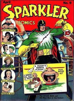 Sparkler Comics (1941) 9-A