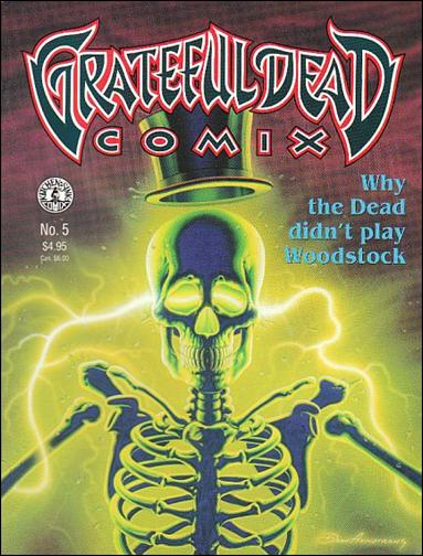 Grateful Dead Comix (1991) 5-A by Kitchen Sink