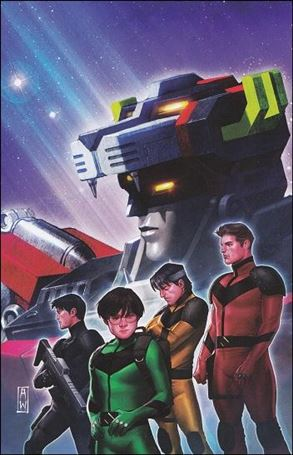 Voltron: Year One 3-B