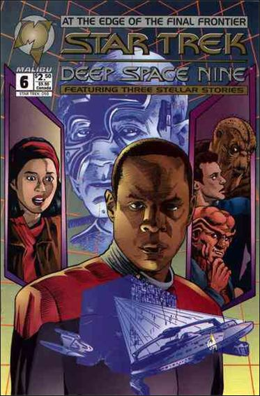 Star Trek: Deep Space Nine (1993) 6-A by Malibu