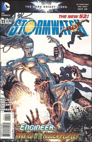 StormWatch (2011) 11-A by DC