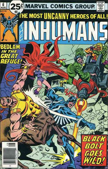 Inhumans (1975) 6-A by Marvel
