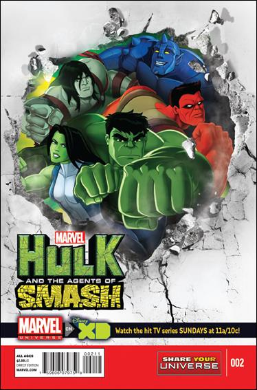 Marvel Universe Hulk: Agents of S.M.A.S.H.  2-A by Marvel