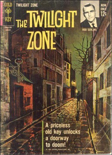 Twilight Zone (1962) 4-A by Gold Key