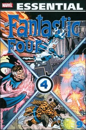 Essential Fantastic Four 9-A by Marvel