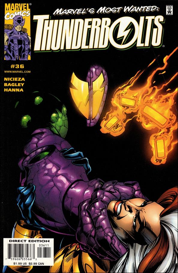 Thunderbolts (1997) 36-A by Marvel